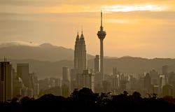 Kuala Lumpur cityscape Royaltyfri Fotografi
