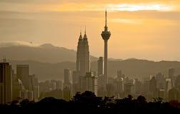 Kuala Lumpur Cityscape - 003 Royaltyfria Foton