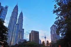 Kuala Lumpur Cityscape - 014 Arkivfoto