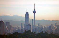 Kuala Lumpur Cityscape - 002 Royalty Free Stock Images