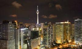 Kuala Lumpur Cityscape with KLtower Royalty Free Stock Photo