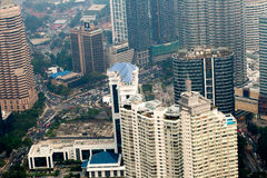 Kuala Lumpur cityscape view, Malaysia Stock Image