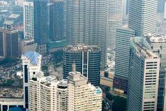 Kuala Lumpur cityscape view, Malaysia Royalty Free Stock Photo