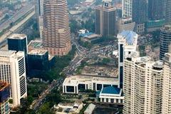 Kuala Lumpur cityscape view, Malaysia Stock Photos