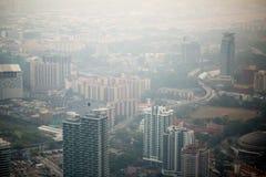 Kuala Lumpur cityscape view, Malaysia Royalty Free Stock Image