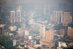Kuala Lumpur cityscape view, Malaysia Royalty Free Stock Photos