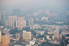 Kuala Lumpur cityscape view, Malaysia Royalty Free Stock Images