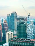 Kuala lumpur constructiont, Malaysia Royalty Free Stock Photo