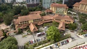 Kuala Lumpur Craft Complex royaltyfri foto