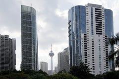 Kuala Lumpur Daytime Cityscape Street View Royalty Free Stock Image