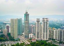 Kuala Lumpur development Royalty Free Stock Photography
