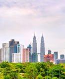 Kuala Lumpur Downtown, Malaysia Royalty Free Stock Photo