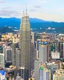 Kuala Lumpur Downtown, Malaysia Royalty Free Stock Photos