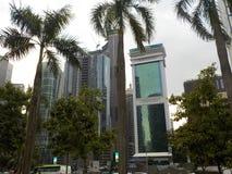 Kuala Lumpur drapacze chmur, Petronas Górują parka, Malezja zdjęcia stock