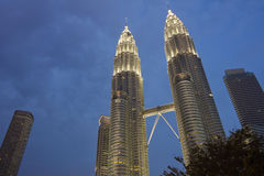 Kuala Lumpur at dusk Stock Photography