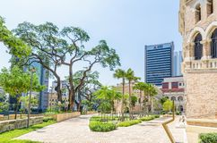 The Sultan Abdul Samad building is located in front of the Merdeka Square in Jalan Raja,Kuala Lumpur Malaysia. Royalty Free Stock Image