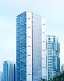 Kuala Lumpur financial street Royalty Free Stock Images