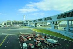 KUALA LUMPUR. 2017, 14h February, Architecture of Kuala Lumpur International Airport, Malaysia Royalty Free Stock Photo