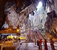 KUALA LUMPUR, Hindu temple in Batu Caves. Royalty Free Stock Photos