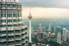 Kuala Lumpur horisont malaysia arkivbilder