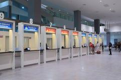 Kuala Lumpur International Airport 2 Bus ticket office Stock Photography