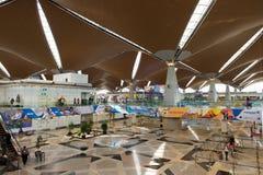 Kuala Lumpur International Airport Interior KLIA Royaltyfria Bilder