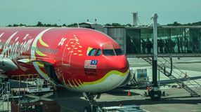 Kuala Lumpur International Airport KLIA Photographie stock libre de droits