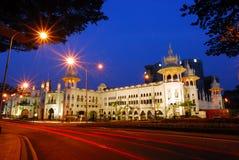 Kuala Lumpur järnvägstation Arkivfoton