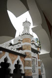 Kuala Lumpur Jamek Mosque em Malásia Foto de Stock