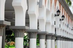 Kuala Lumpur Jamek Mosque en Malasia Foto de archivo