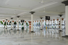 Kuala Lumpur Jamek Mosque i Malaysia Arkivbilder
