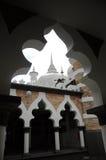 Kuala Lumpur Jamek Mosque in Maleisië Stock Afbeeldingen