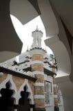 Kuala Lumpur Jamek Mosque in Maleisië Stock Foto