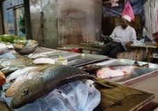 KUALA LUMPUR, 14 JANUARY, 2017 - Fish Market in Kuala Lumpur, Malaysia, Asia Stock Photography