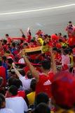 De Ventilators van de voetbal Stock Foto's