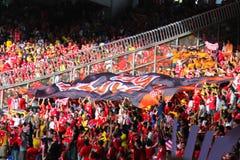 De Ventilators van de voetbal Royalty-vrije Stock Foto