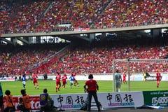De Ventilators van de voetbal Royalty-vrije Stock Foto's