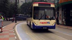 Kuala Lumpur, la capital de Malasia almacen de metraje de vídeo