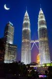 Kuala Lumpur Landmark fotografering för bildbyråer