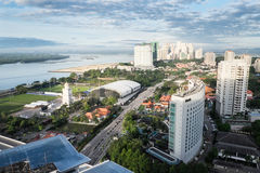 Kuala Lumpur landskap Royaltyfria Bilder