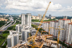 Kuala Lumpur landskap Royaltyfri Fotografi