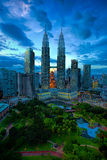 Kuala Lumpur linia horyzontu Zdjęcia Stock