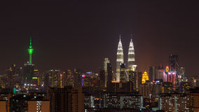 Kuala Lumpur linia horyzontu Obraz Stock