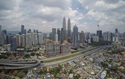 Kuala Lumpur linia horyzontu Zdjęcie Royalty Free