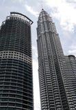 Kuala Lumpur linie horyzontu Zdjęcia Royalty Free