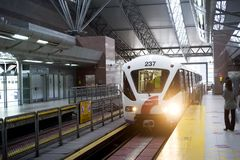 Kuala Lumpur LRT Fotografia Stock Libera da Diritti