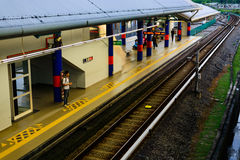 Kuala Lumpur LRT Station Stock Photos