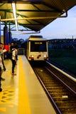 Kuala Lumpur LRT Royalty Free Stock Photography