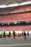Giro asiatico 2011 di Liverpool Fotografie Stock Libere da Diritti