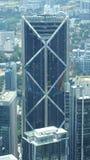 KUALA LUMPUR, MALÁSIA - 12 de abril de 2015: A vista surpreendente do painel de vidro da ponte do céu encontrou 170 medidores aci Imagem de Stock Royalty Free